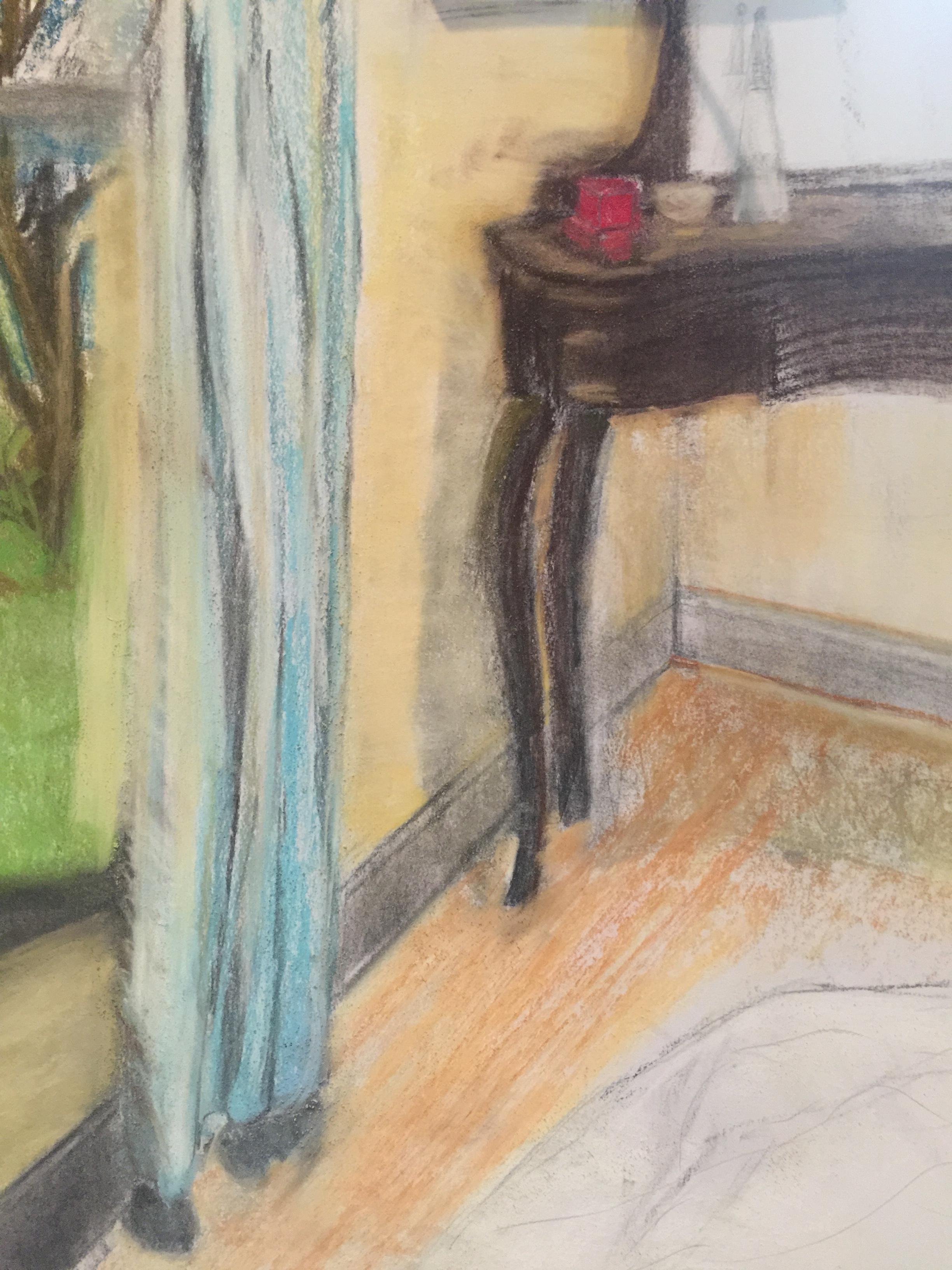 Corner view in bedroom