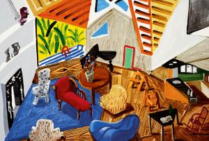 david-hockney-small-interior-1988