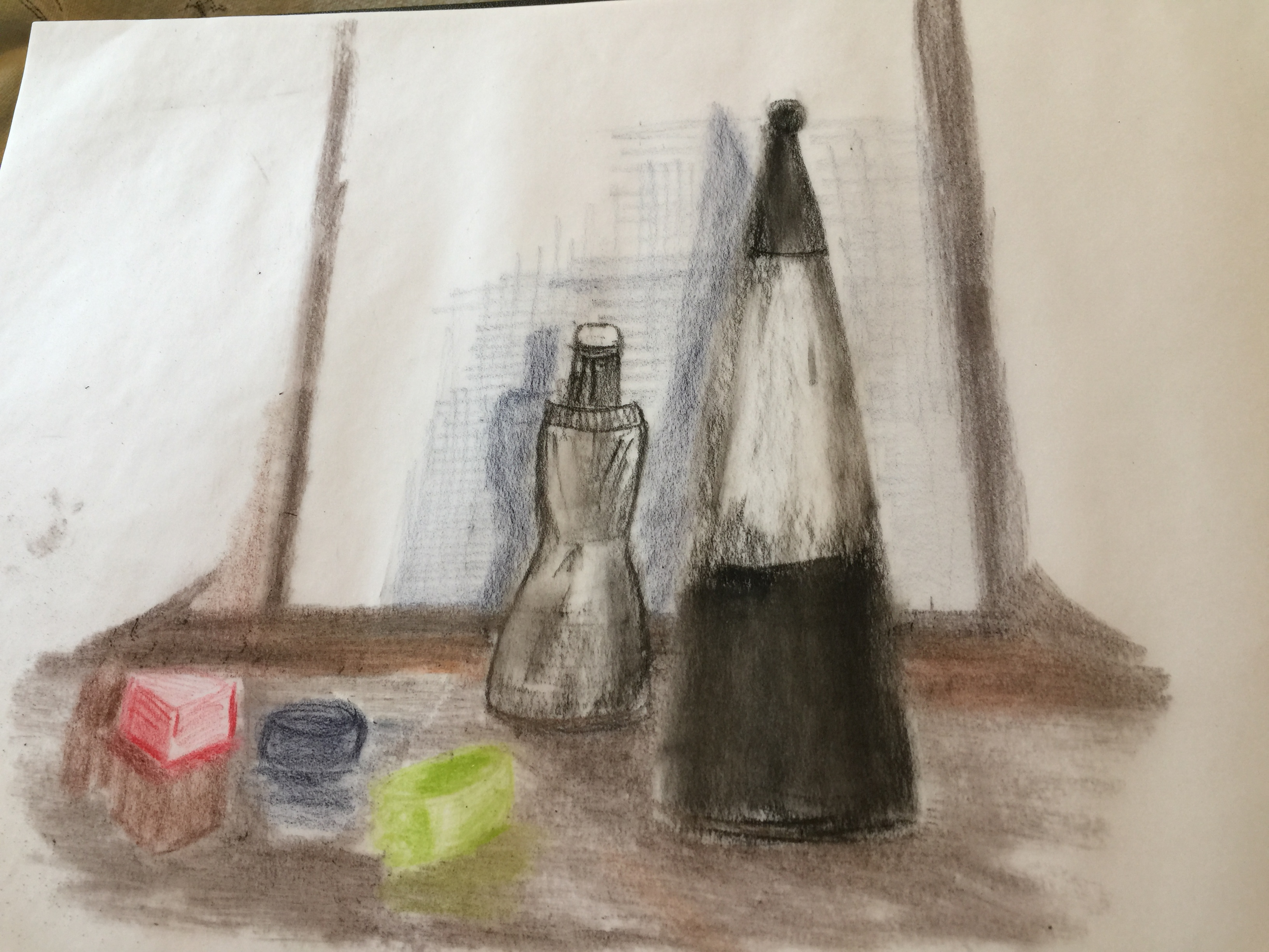 perfume on trace paper