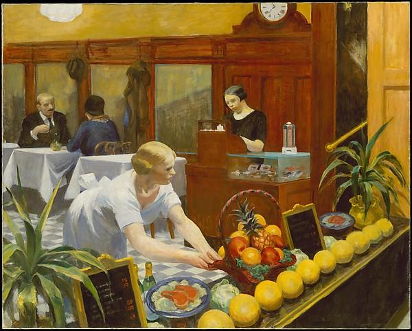 tables for ladies 1930 Hopper