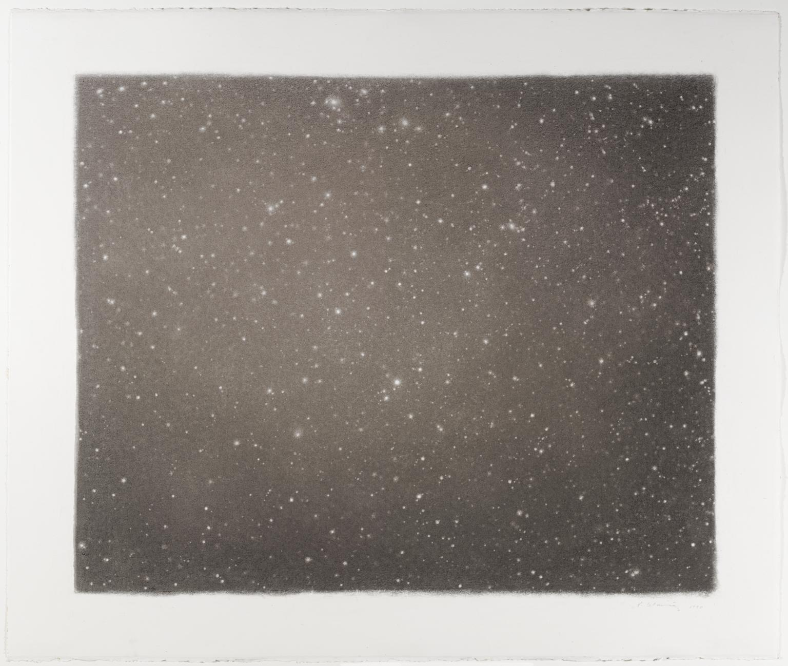 Night Sky #19 1998 by Vija Celmins born 1938