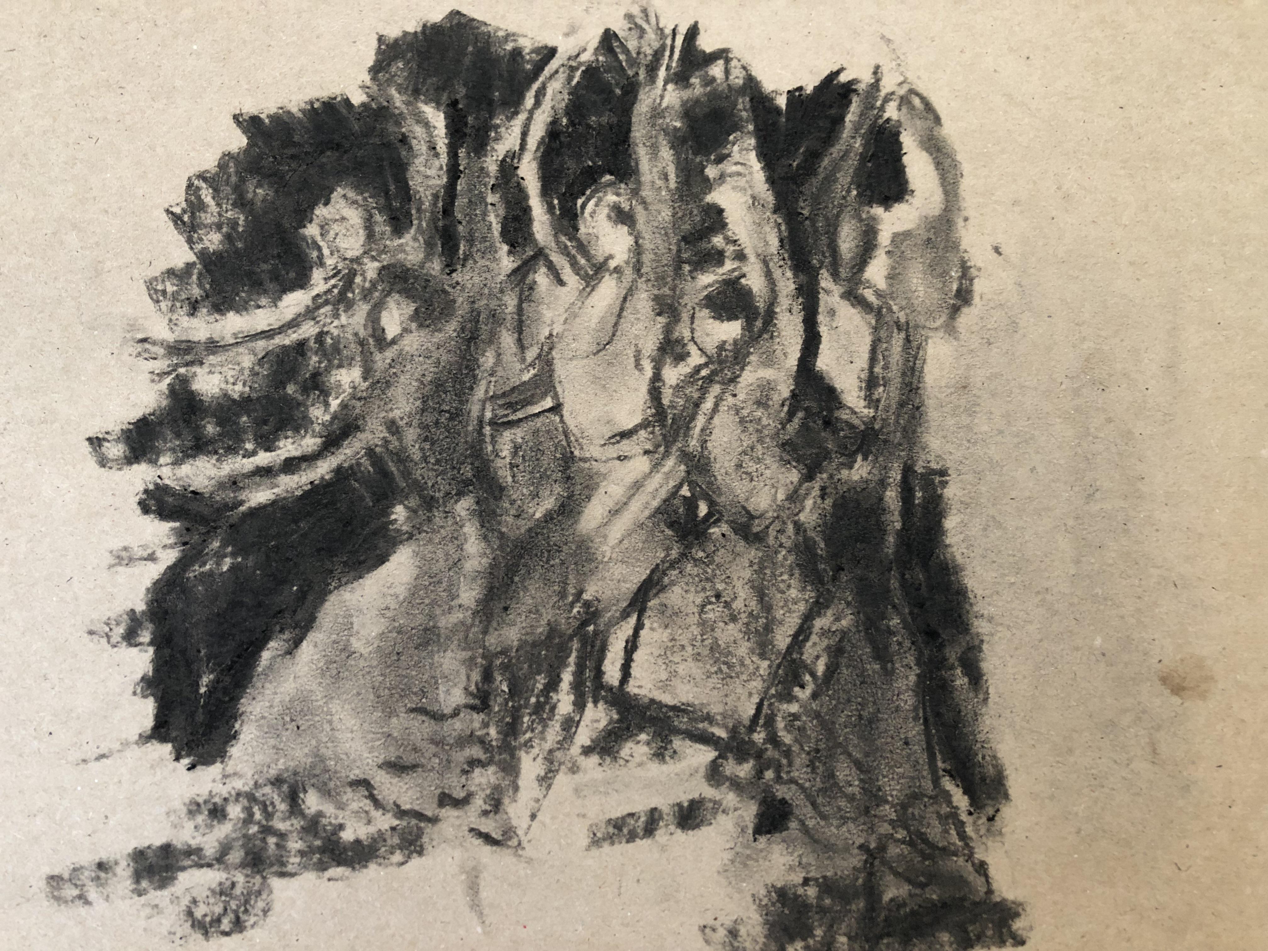 2 flamenco group dancing
