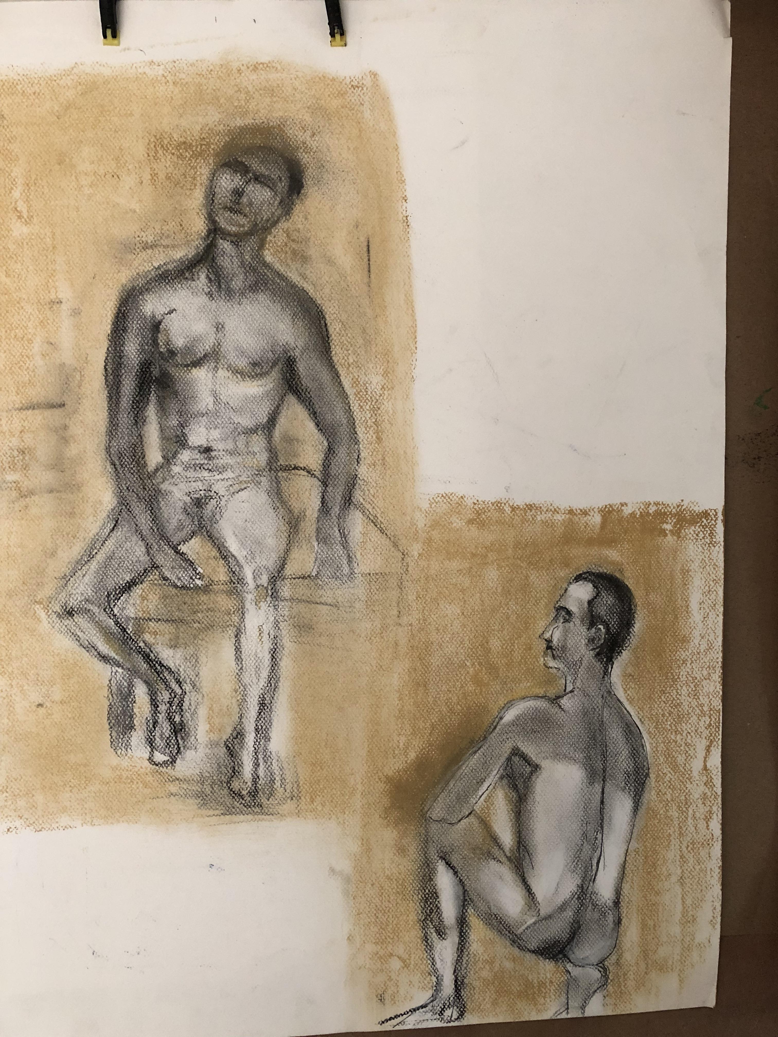 2 short studies of male model.jpg