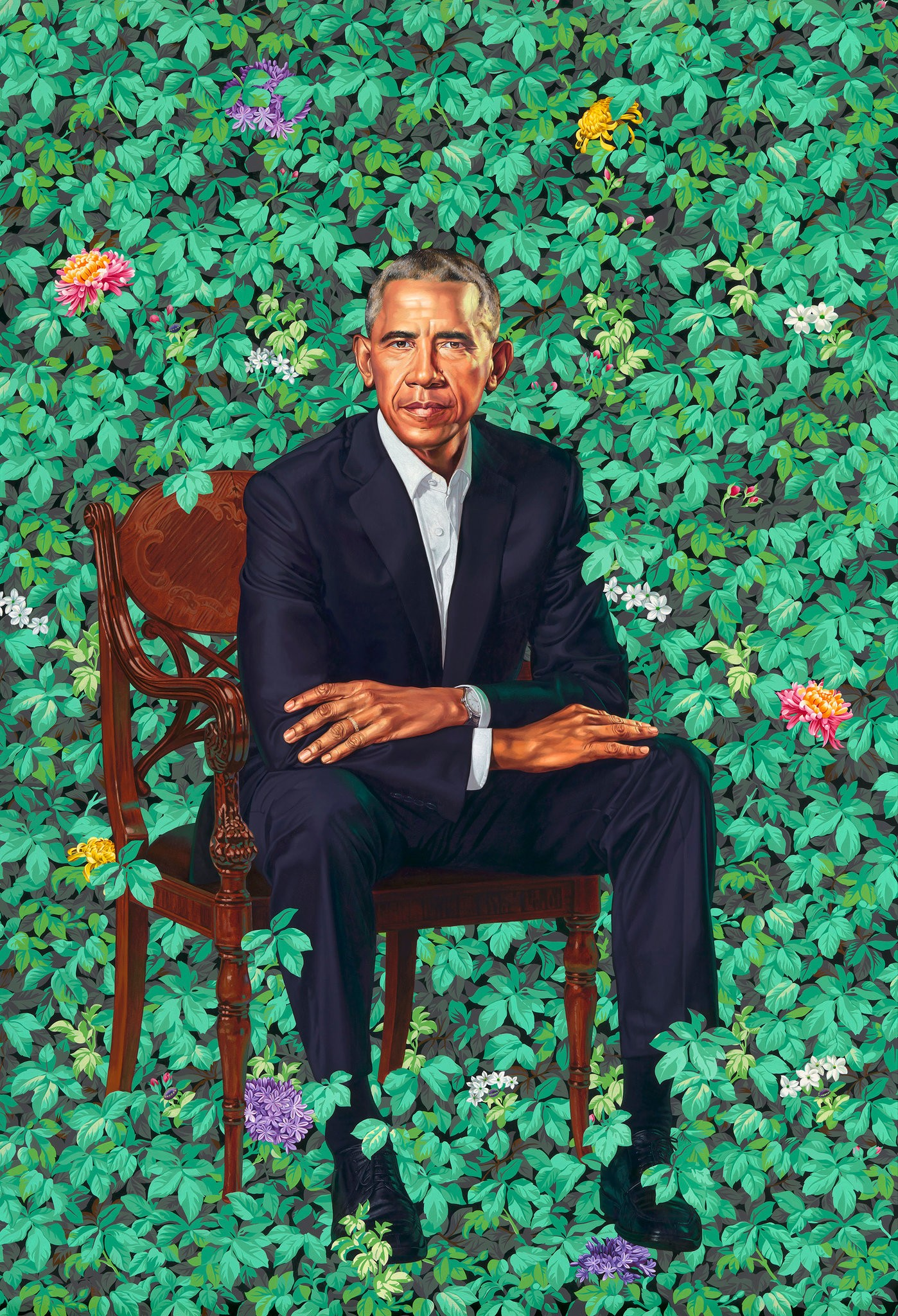 Obama Kehinde wiley.jpg