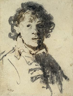 Rembrant_van_Rijn_-_Self-portrait_as_a_young_man_with_mouth_open_-_BM_Gg,2.253