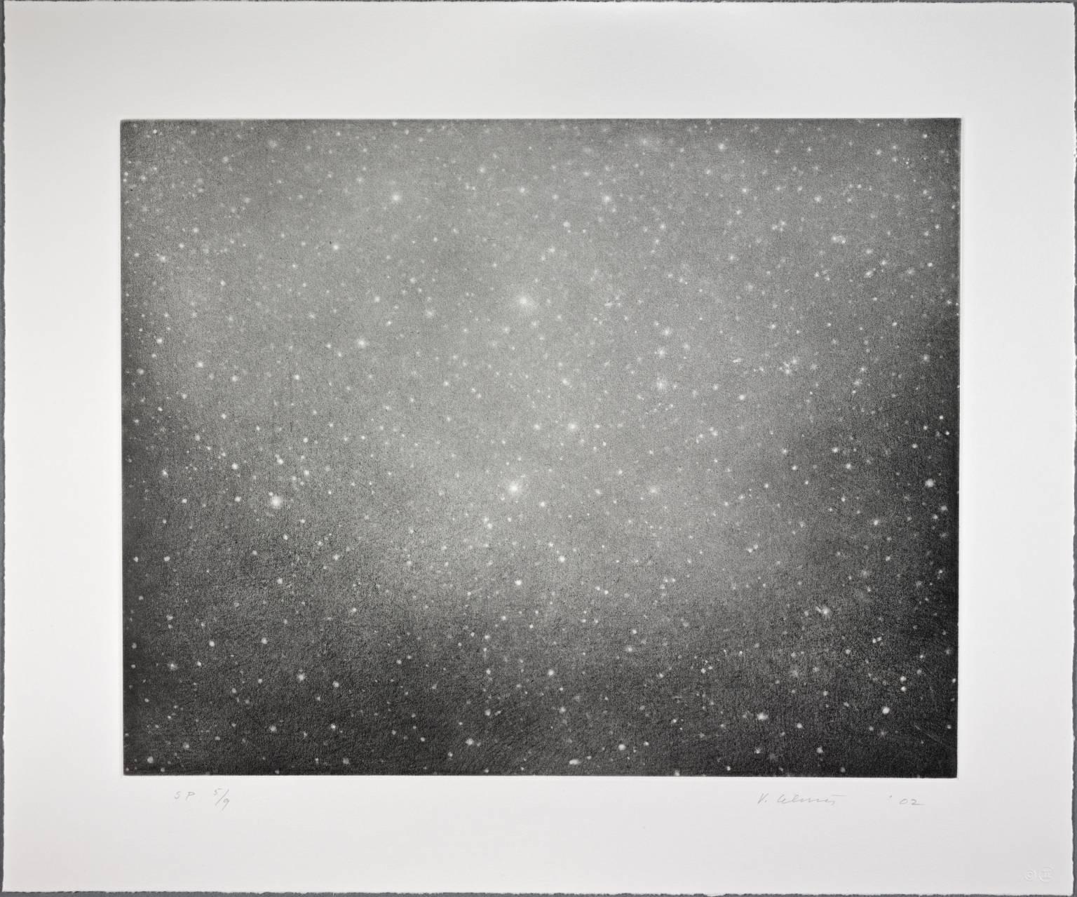 Night Sky 3 2002 by Vija Celmins born 1938